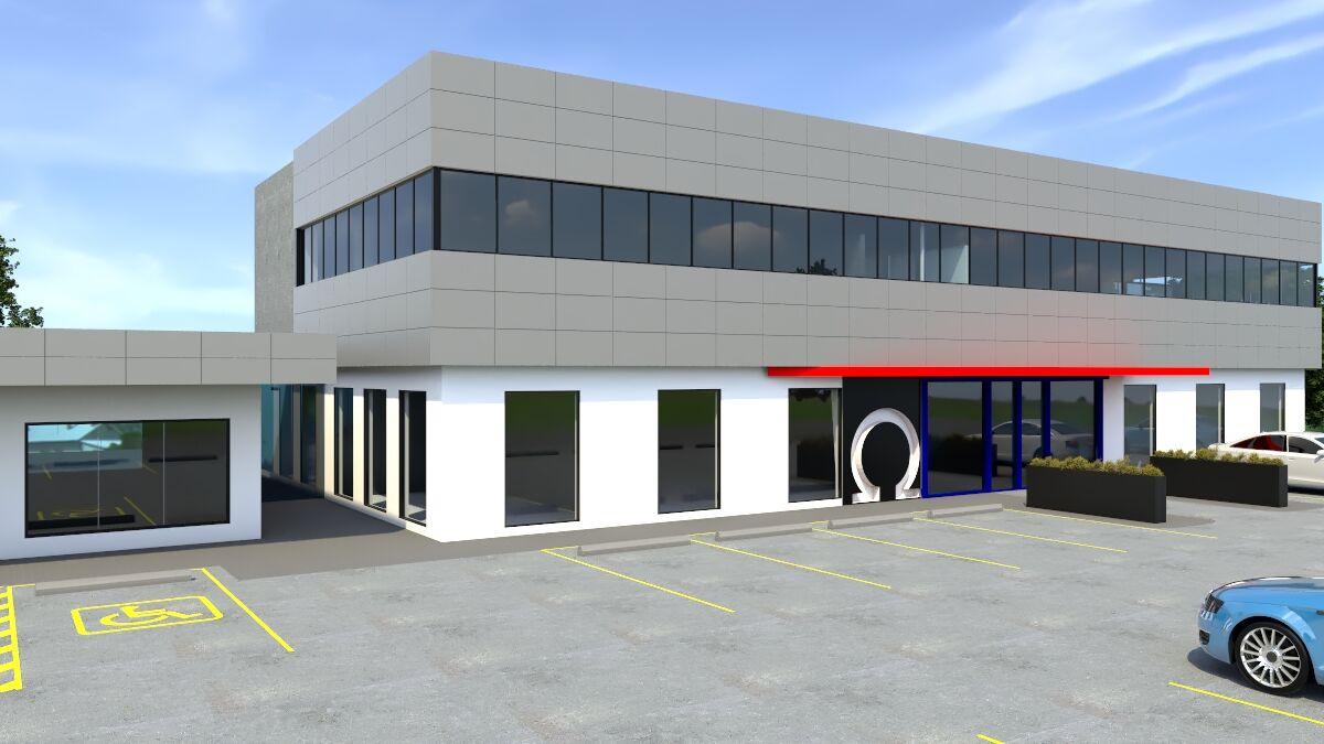 Omega office development